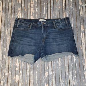 Levi's Cutoff Denim Shorts - Sz 14